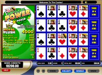 Aces and Faces Power Poker Game