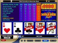 Double Joker Poker Game
