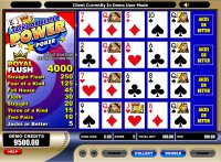 Jack or Better Power Poker Game