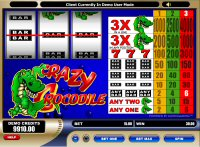 Crazy Crocs Slot Machine