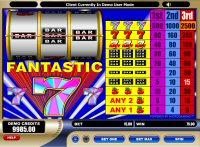 Fantastic 7s Slot Machine